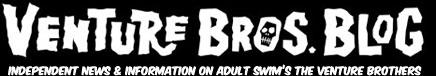 Venture Bros. Blog