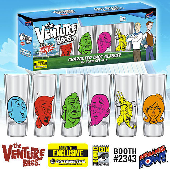 venture-bros-shot-glasses