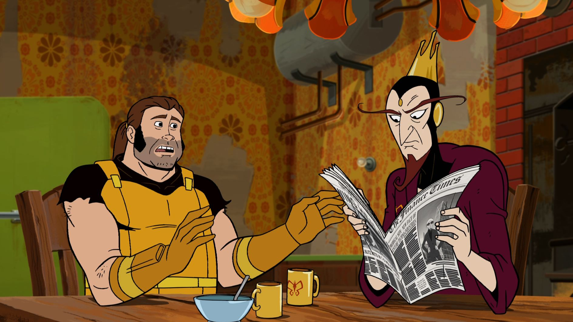 The Venture Bros. Season Six - Monarch and Henchman 21