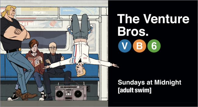 The Venture Bros. Season 6 Billboard by Patrick Ledger