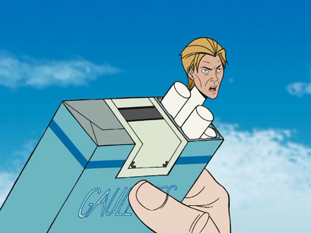 David Bowie on The Venture Bros.