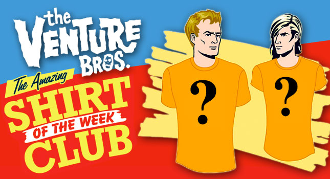Venture Bros. Shirt Club Returns