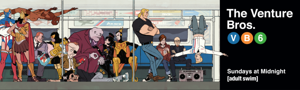 The Venture Bros. Season 6 Billboard by Patrick Leger
