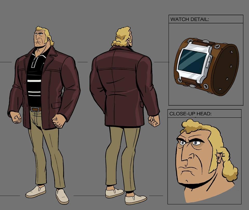The Venture Bros. Season 6 - Brock Samson Character Model