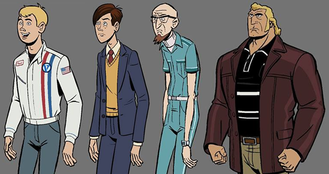 The Venture Bros. Season 6 - Character Models