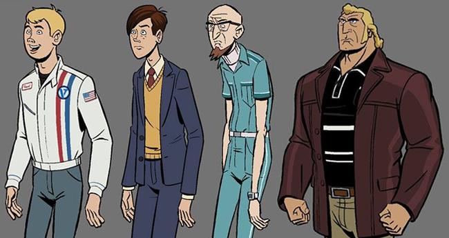 The Venture Bros. Season 6 - Character Models