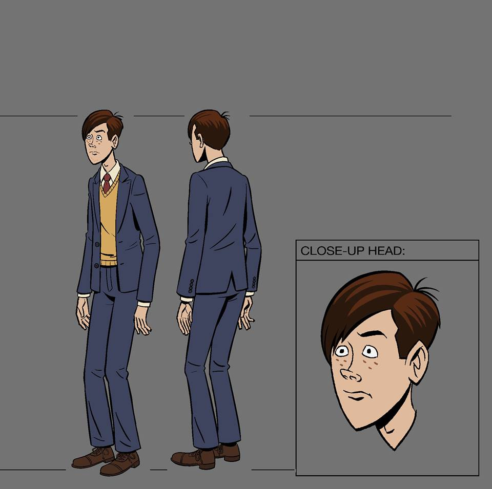 The Venture Bros. Season 6 - Dean Venture Character Model