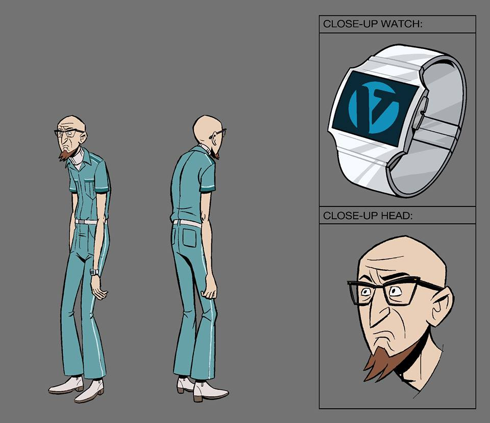 The Venture Bros. Season 6 - Doctor Venture Character Model