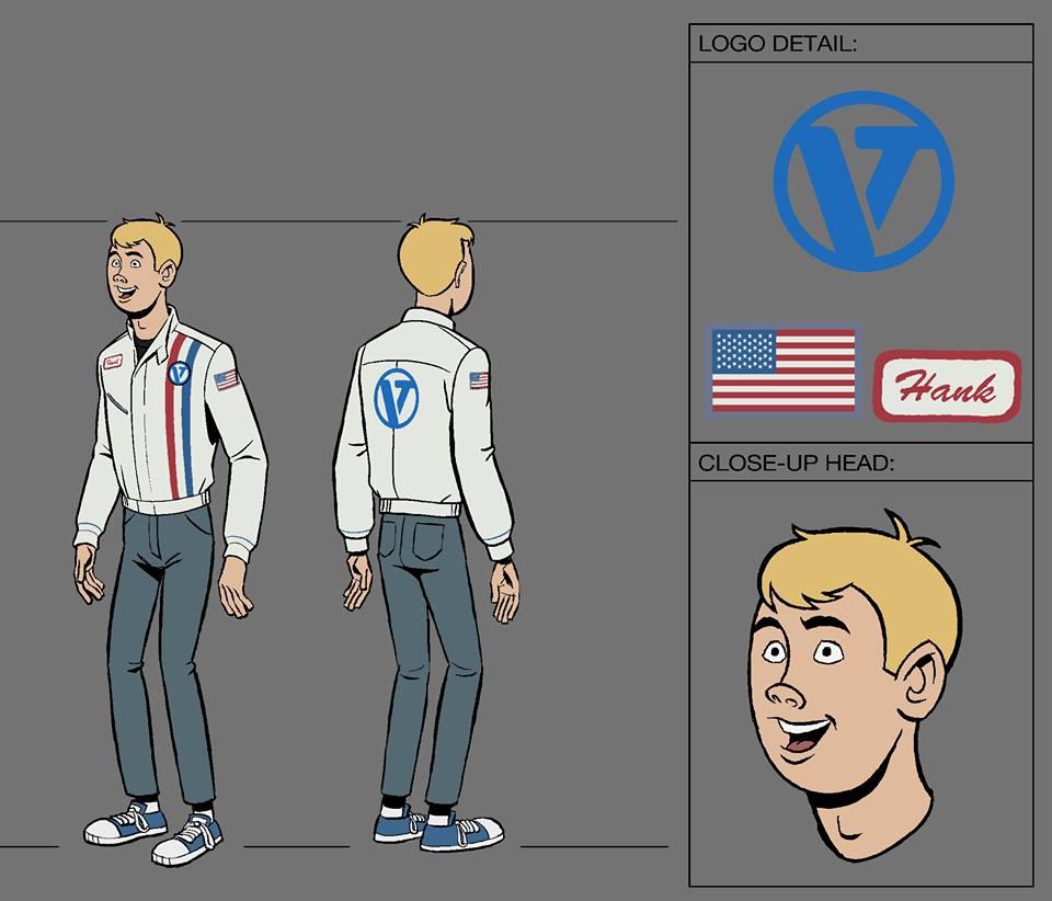The Venture Bros. Season 6 - Hank Venture Character Model