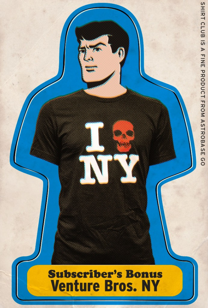 Venture Bros. Shirt Club