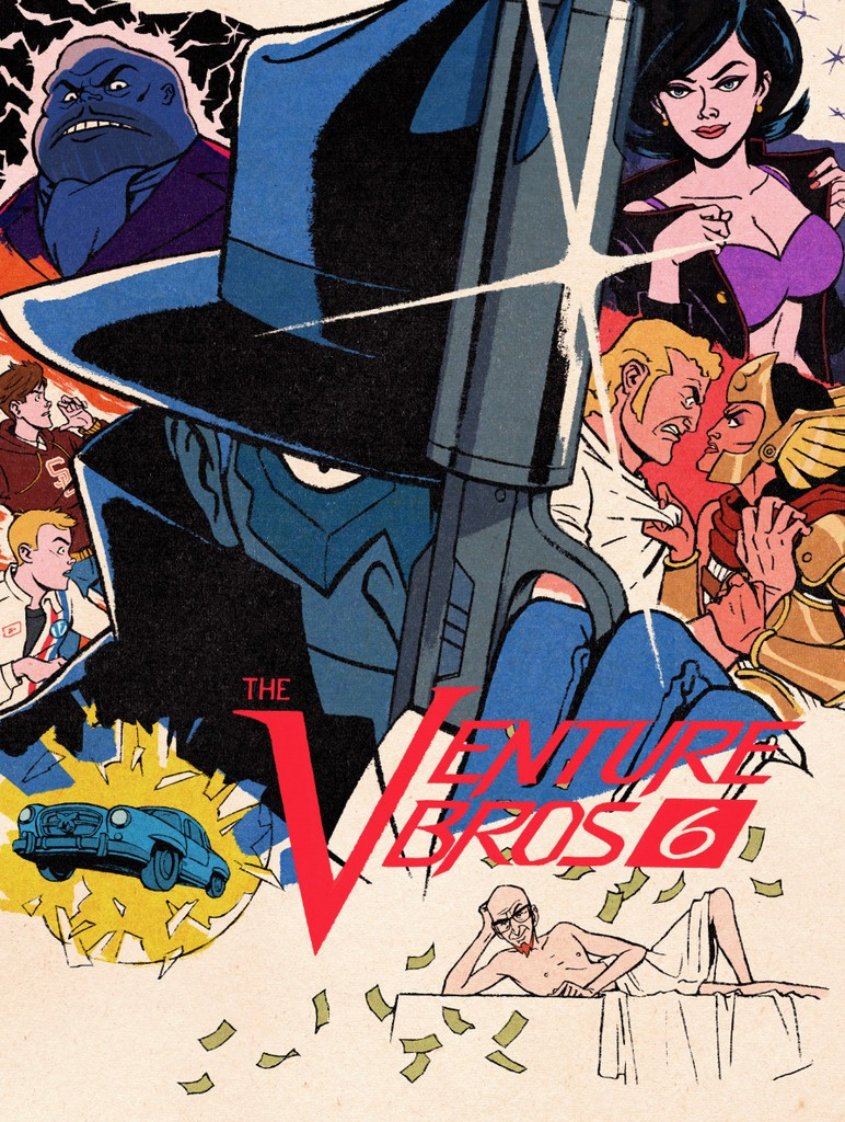 Venture Bros Season 6 Official Poster Series