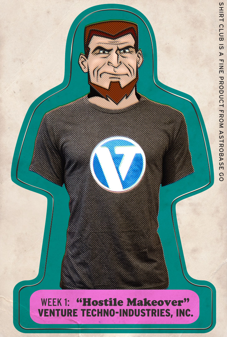 Venture Bros. Shirt Club