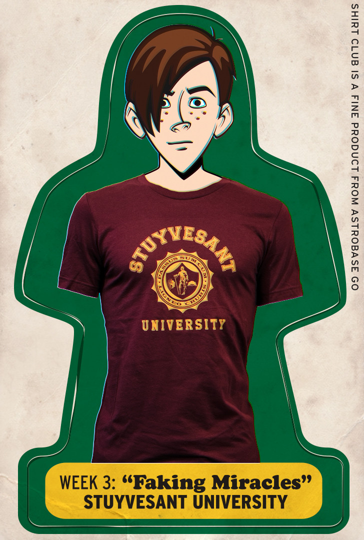 e3fea0e08495 Venture Bros Season 6 Shirt Club Shirt DesignsVenture Bros. Blog