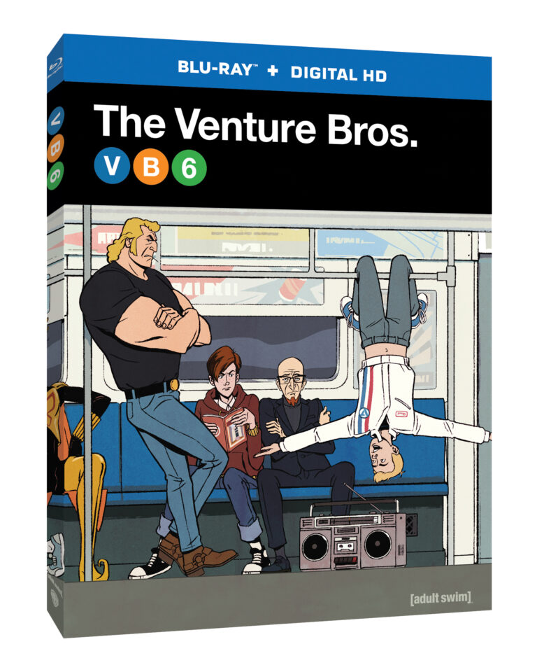 The Venture Bros. Season 6 on Blu-Ray and DVD - October 4