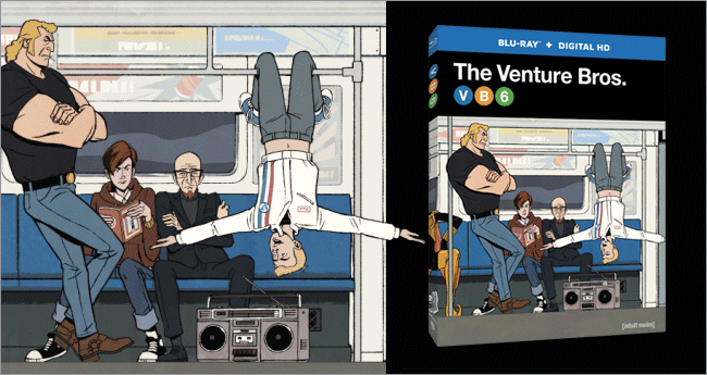 The Venture Bros. Season 6 on Blu-ray and DVD